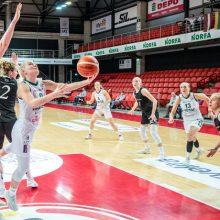 """Dėl Baltijos moterų čempionato aukso kovos """"Aistės-LSMU"""" ir TTT"""
