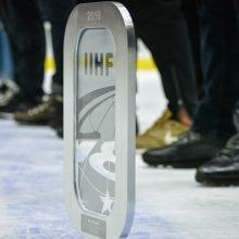 20-mečių ledo ritulio rinktinė pasaulio čempionatui ruošis Elektrėnuose
