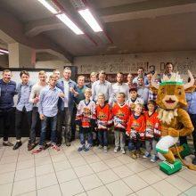 """""""Kaunas Hockey"""" į pirmąjį susitikimą subūrė esamus ir būsimus ledo ritulio mėgėjus"""