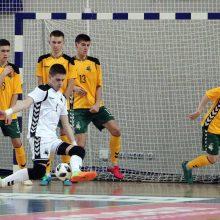 Andora Jonavoje sutriuškino Lietuvos jaunimo salės futbolo rinktinę
