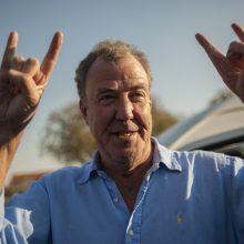 Britų televizijos žvaigždė J. Clarksonas Gruzijoje kuria laidą apie J. Staliną