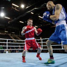 Europos bokso čempionate – pirmoji lietuvių pergalė