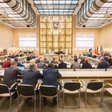 Antradienį vyks paskutinis kadenciją baigiančios Kauno Tarybos posėdis