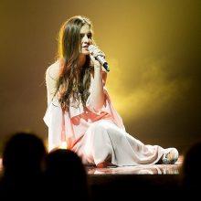 """Susidomėjimas """"Eurovizija"""" – rekordinis: Ievą palaikė labiau nei D. Montvydą"""