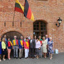Draugystę su vokiečiais stiprina ir bendri projektai, ir pramogos