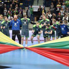 Lietuvos rankinio rinktinė pasaulio čempionato atranką pradės Klaipėdoje