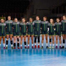 Lietuvos moterų rankinio rinktinė pralaimėjo vokietėms