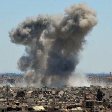 D. Trumpas švelnina toną dėl pasitraukimo iš Sirijos