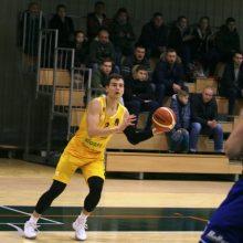 """""""Šiaulių"""" krepšininkai nugalėjo dvigubą dublį atlikusio D. Krestinino ekipą"""
