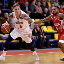 """FIBA Čempionų lyga: """"Juventus"""" krito Izraelyje"""