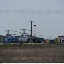 Rusija: Baltijos jūroje rastas balandžio 12-ąją nukritęs sraigtasparnis Ka-29