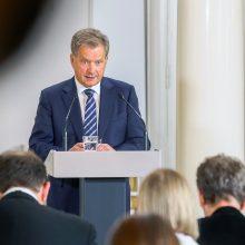 Suomijos prezidentui S. Niinisto atlikta operacija
