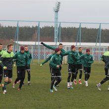 Kipre – nelengva jaunųjų futbolininkų pergalė