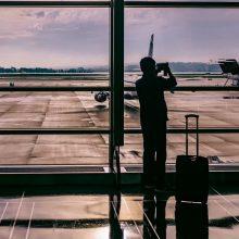 Dėl dėl techninių kliūčių sustabdyti skrydžiai virš Belgijos