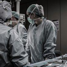 Ligoninėje – praktikantų desantas iš Amerikos