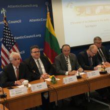 L. Linkevičius: sprendimus dėl Baltijos valstybių oro gynybos reikia priimti greičiau