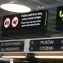 Kauno oro uoste sulaikytas nusikaltimu Lietuvoje įtariamas Latvijos pilietis