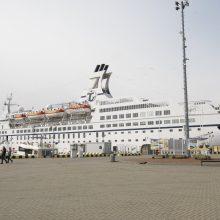 Uostamiestyje vieši antrasis šio sezono kruizinis laivas