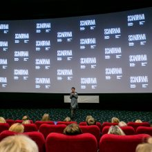 """Prasidėjo jubiliejinis """"Scanoramos"""" kino festivalis"""