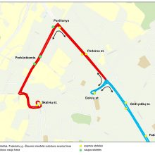 Nuo spalio 6-osios viešasis transportas grįžta į Perkūnkiemį