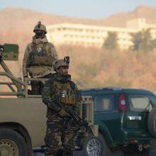 Viešbučio ataka Kabule baigėsi, užpuolikai nukauti