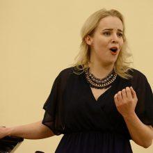 Jaunieji operos balsai žengia į Filharmonijos sceną