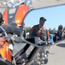 Kauno senamiestį sudrebino šimtai motociklų