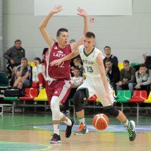Lietuvos jaunieji krepšininkai palaužė latvius