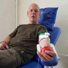 Startuoja neatlygintinos kraujo donorystės turas