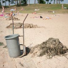 Kauno paplūdimių spindesys ir skurdas
