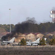Ispanijoje per naikintuvo katastrofą žuvo aštuoni prancūzai ir du graikai