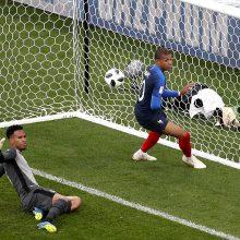 Prancūzijos futbolininkai įveikė Peru atstovus
