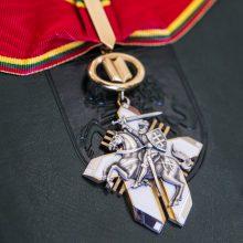 Rašytojas T. Venclova apdovanotas už ypatingus nuopelnus Lietuvai