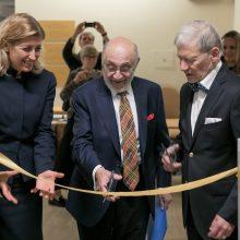 Vilniuje atidarytas dailininko S. Bako muziejus