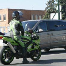 Motociklininkai: 0 promilių taisyklė turi būti taikoma visiems vairuotojams