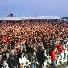 Masė: kulminacinę festivalio dieną Kruizinių laivų terminalas buvo susakimšas.