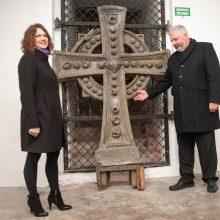 Kauno paveldosaugininkų laimikis – pradingęs Soboro kryžius