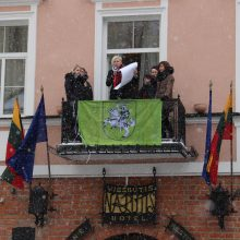 Emancipacijos manifestą 2018 m. vasario 17-ąją Vilniuje skaitė jo autorė Laima Kreivytė.  <span style=color:red;>(Herbo VYTĖ autorė yra Shaltmira.)</span>