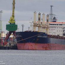 """Spaudimas: rusų laivo """"Ivan Lopatin"""" įgula kovą dėl uždirbtų atlyginimų laimėjo tik pasitelkę lietuvius, ginančius jūrininkų teises."""