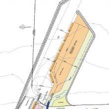 Vizija: 2011 m. studijoje buvo pateikta tokia galimo išorinio uosto ties Klaipėda schema.
