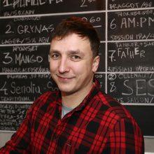 Verslininkas ir alaus žinovas Tomas Savickis