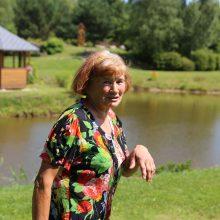 M.Račkaitienė prieš septynerius metus sodybą Braziūkuose pradėjo kurti nuo plyno lauko.