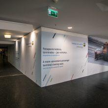 Vilniaus oro uosto rekonstrukcija startuoja nuo išvykimo salės