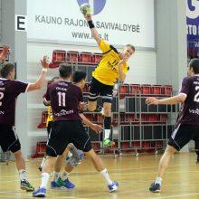 Lietuvos rankinio rinktinė nugalėjo Latviją