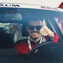 Žvaigždžių lenktynėse greičiausias – D. Laukys iš grupės 120