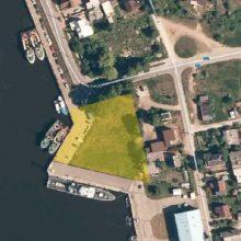Laivyno pastato statyba stabtelėjo dėl teismo