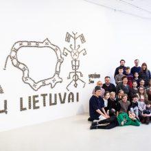 """""""100 mitų Lietuvai"""": edukacinė P. Gilytės kūrinio transformacija"""