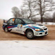 V. Švedas ralio sezoną pradeda technikos rokiruote