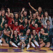 LRF taurės finale triumfavo Kauno moterų ir vyrų komandos