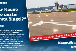 Kauno oro uostui lemta žlugti?